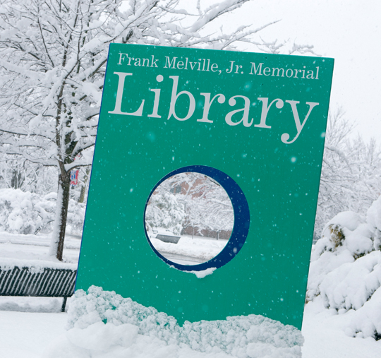 frank melville junior memorial library